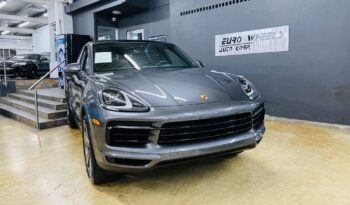 Cayenne Coupe lleno